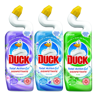 DUCK LIQUIDO WC MIX DISINFETTANTE ML.750