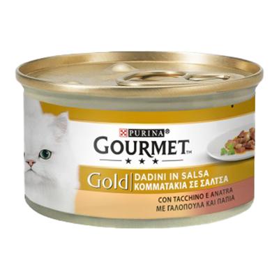 GOURMET GOLD DADINI TACCHINO/ANATRA GR.85
