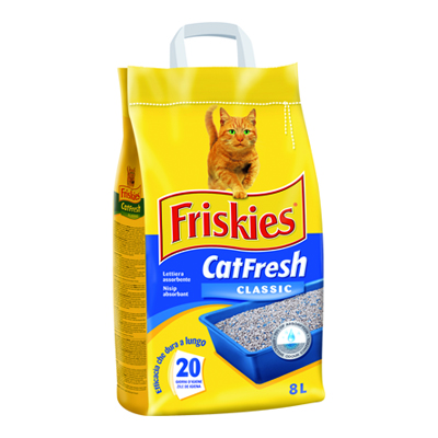 FRISKIES LETTIERA CAT FRESH KG.5