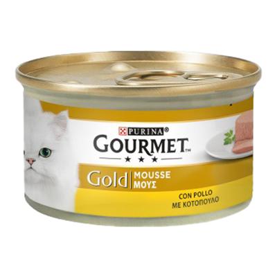 GOURMET GOLD MOUSSE POLLO DELICATO GR.85