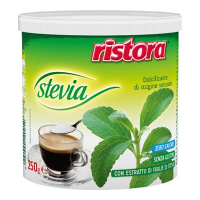 RISTORA DOLCIFICANTE STEVIA LATTINA GR.250