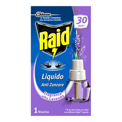 RAID LIQUIDO RICARICA 30 NOTTILAVANDA