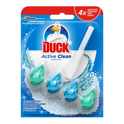 DUCK ACTIVE CLEAN MARINE/PINEGR.39 (8+8 MISTI)