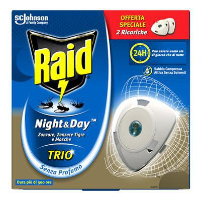 RAID NIGHT & DAY TRIO RICARICAX 2