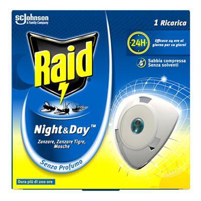 RAID NIGHT & DAY RICARICA ZANZARE