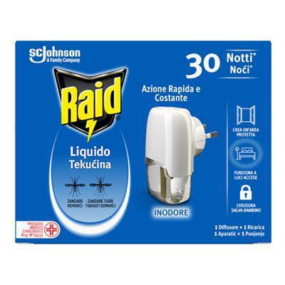 RAID LIQUIDO BASE 30 NOTTI INODORE