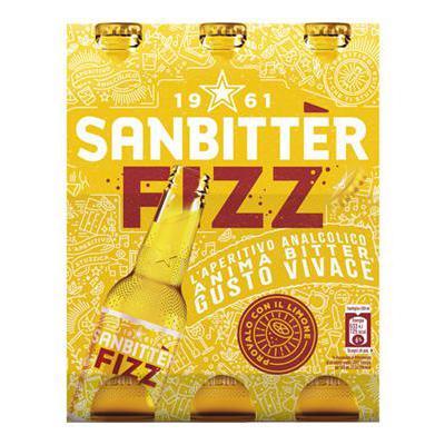 SANBITTER FIZZ CL.25X3 VAP