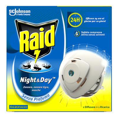 RAID NIGHT & DAY BASE+RICARICA(1 BASE+RI