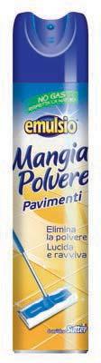 EMULSIO MANGIAPOLVERE PAVIMENTI SPRAY ML.300