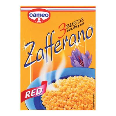 CAMEO ZAFFERANO RED GR.0,10 X3