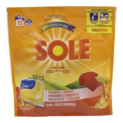 SOLE CAPS 3 AZIONI PROTEGGI COLORE X 15 LAVAGGI
