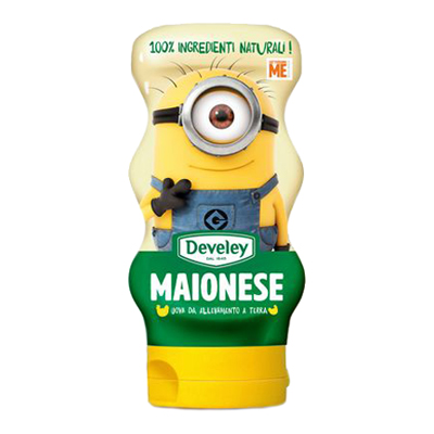 DEVELEY ML.250 MAIONESE MINIONS SQUEEZE
