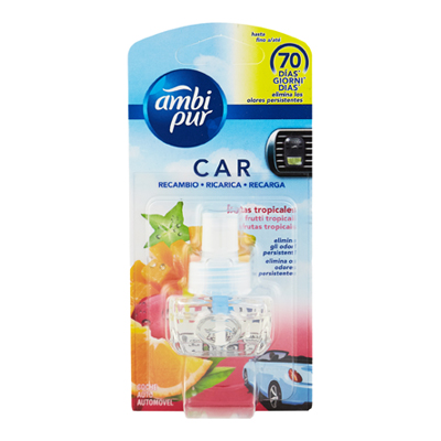 AMBI PUR CAR RICARICA FRUITY TROPICS ML.7