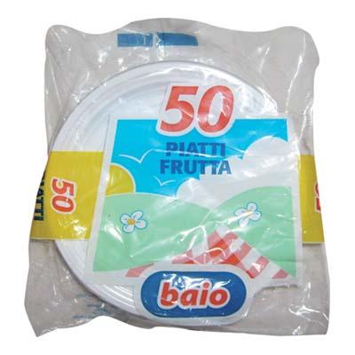 BAIO PIATTI DESSERT FRUTTA X50