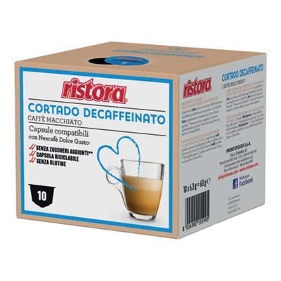 RISTORA CAFFE'CORTADO DEC 10 CAPSULE