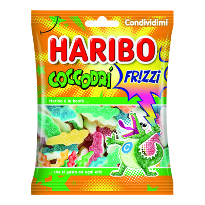 HARIBO BUSTA COCCODRI FRIZZANTI GR.175 35050