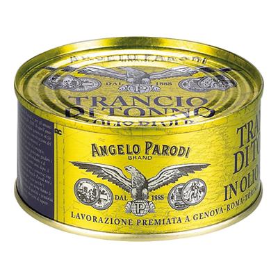 ANGELO PARODI TRANCIO TONNO OLIO OLIVA GR.180