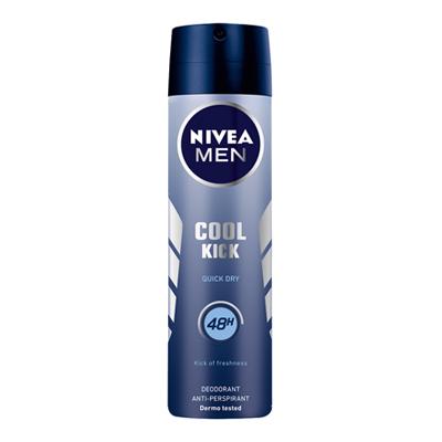 NIVEA DEO SPRAY ML.150 COOL KICK SPRAY FOR MAN