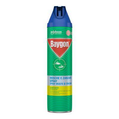 BAYGON SPRAY ML.400 MOSCHE/ZANZARE
