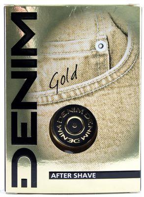 DENIM AFTER SHAVE GOLD ML.100