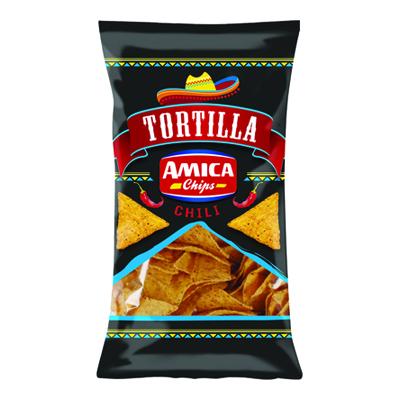 AMICA CHIPS TORTILLA GR.200 CHILI