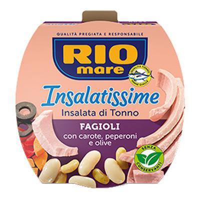 RIO MARE INSALATISSIME FAGIOLIGR.160