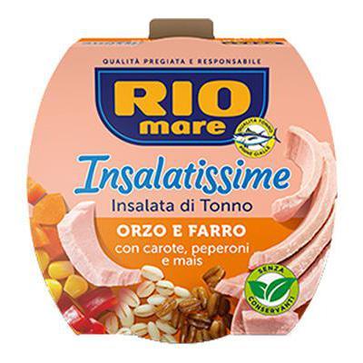 RIO MARE INSALATISSIME TONNO+ORZO/FARRO GR.160