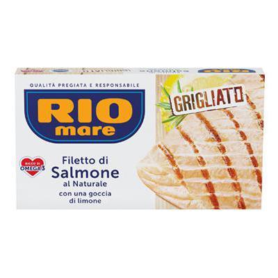 RIO MARE FILETTI SALMONE GRIGLIATO LIMONE GR.125