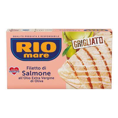 RIO MARE FILETTI SALMONE GRIGLIATO GR.125 OLIO EXTRAVERGINE