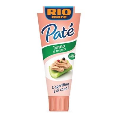 RIO MARE PATE' TONNO 3 PEPI GR.100