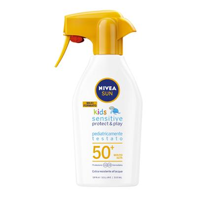 NIVEA SUN KIDS SPRAY FP50+300ML SENSITIVE