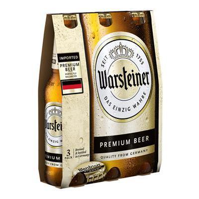 BIRRA WARSTEINER 4.8� CL.33 X3 BOTTIGLIE