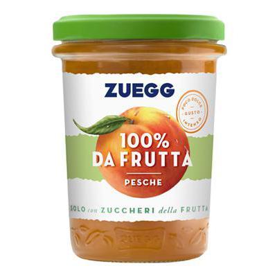 ZUEGG CONFETTURA GR.250 PESCA100% DA FRUTTA