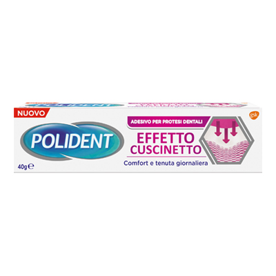 POLIDENT ADESIVO EFFETTO CUSCINETTO GR.40