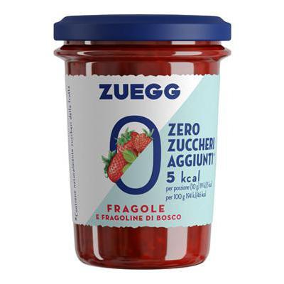 ZUEGG CONFETTURA FRAGOLA SENZAZUCCHERI AGGIUNTI   GR.220