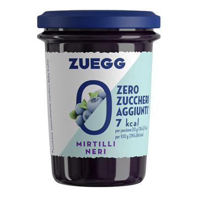 ZUEGG CONFETTURA MIRTILLO SENZA ZUCCHERI AGGIUNTI  GR.220