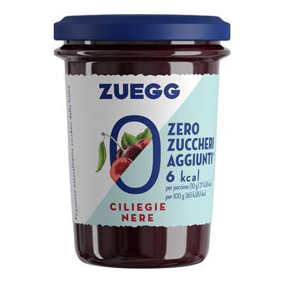 ZUEGG CONFETTURA CILIEGIA SENZA ZUCCHERI AGGIUNTI  GR.220