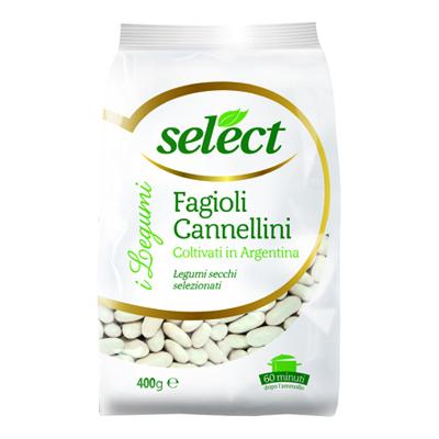 SELECT FAGIOLI CANNELLINI GR.400 CELLOPHANE