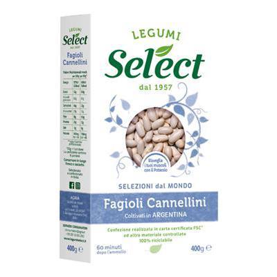 SELECT FAGIOLI CANNELLINI GR.400 ASTUCCIO