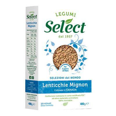 SELECT LENTICCHIE MIGNON GR.400 ASTUCCIO