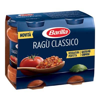 BARILLA RAGU'CLASSICO GR.180X2