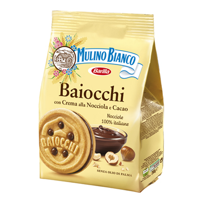 MULINO BIANCO BAIOCCHI NOCCIOLA GR.260
