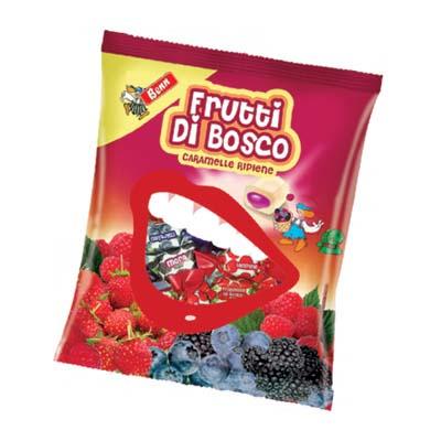 BENN CARAMELLE GR.250 FRUTTI DI BOSCO