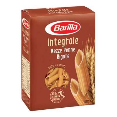 BARILLA INTEGRALI GR.500 MEZZEPENNE RIGATE