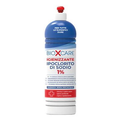 BIOXCARE IGIENIZZANTE IPOCLORITO DI SODIO 1% ML900