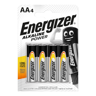 ENERGIZER ALKALINE POWER STILOX 4 AA