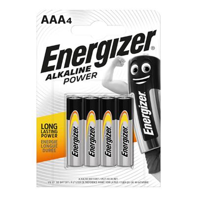 ENERGIZER ALKALINE POWER MINISTILO X 4 AAA