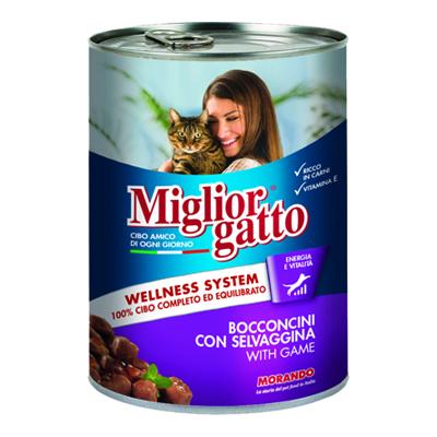 MIGLIOR GATTO BOCCONCINI SELVAGGINA GR.405