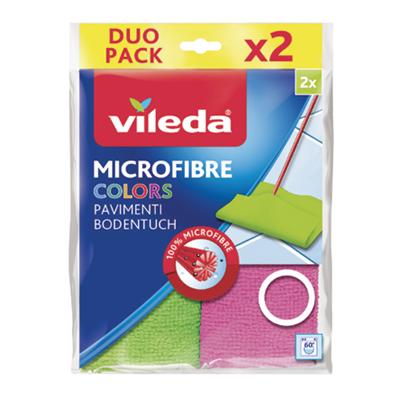 VILEDA PAVIMENTI MICROFIBRA COLOR X2