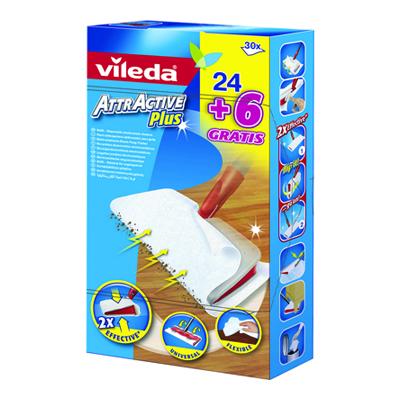 VILEDA ATTRACTIVE PLUS RICAMBIPZ.24+6
